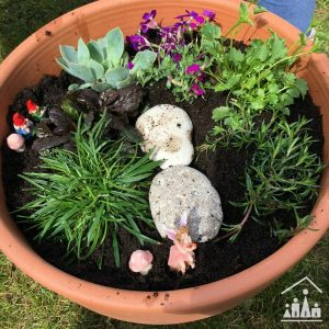 How to make a miniature garden done