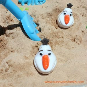 Olaf Summer Game square