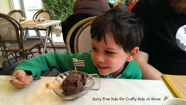 Travelling with Dairy Free Kids