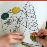 Creative Kandinsky for Kids Art Project