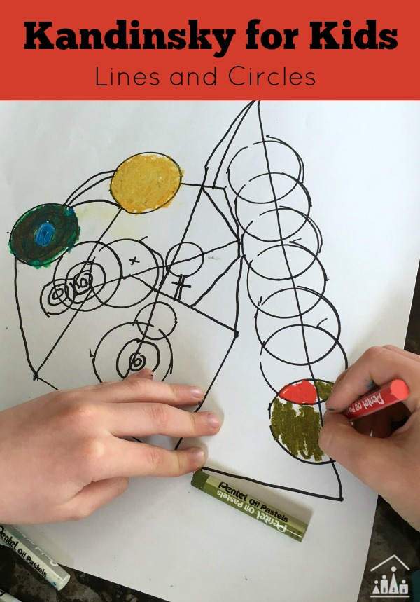 Kandinsky for Kids Lines and Circles
