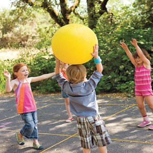 Outdoor Activities for Kids Four Square Volley Ball