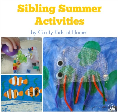 Sibling Summer Activities