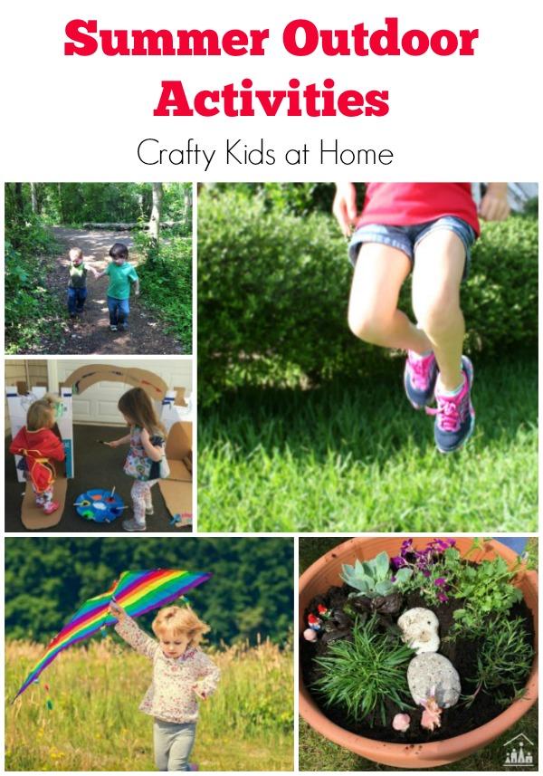 Summer Outdoor Activities for Kids