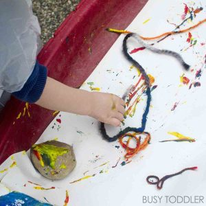 Outdoor Art Yarn Painting