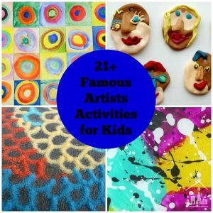 Art Projects for Kids Inspired by Famous Artists