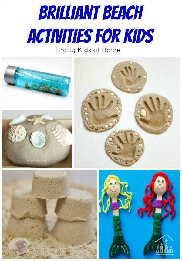 Brilliant Beach Activities For Kids Crafty Kids At Home