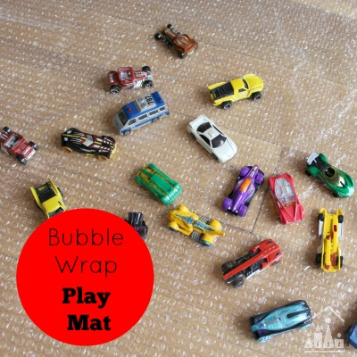 Bubble Wrap Play Mat for Preschoolers