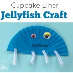 Cute Cupcake Liner Jellyfish Craft
