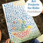 Fun Painting Idea for Kids: Pointillism