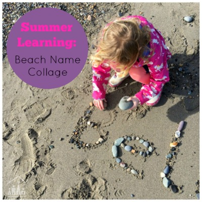 Summer Learning Beach Name Collage Summer Learning Beach Name Collage