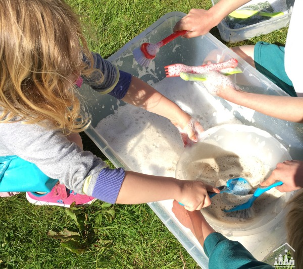 Mud Pie Washing Up