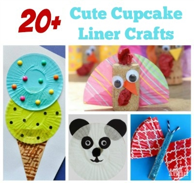 Cupcake Liner Crafts for Kids