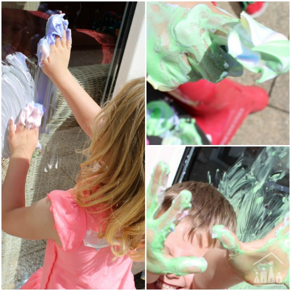 Finger Painting Activity for Kids