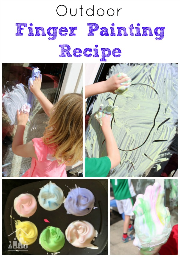 Finger Painting Recipe for Kids