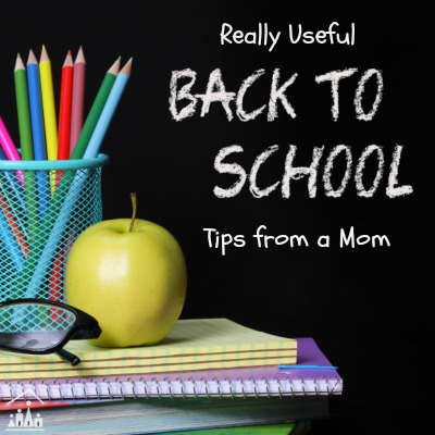 Back to School Tips from a Mom