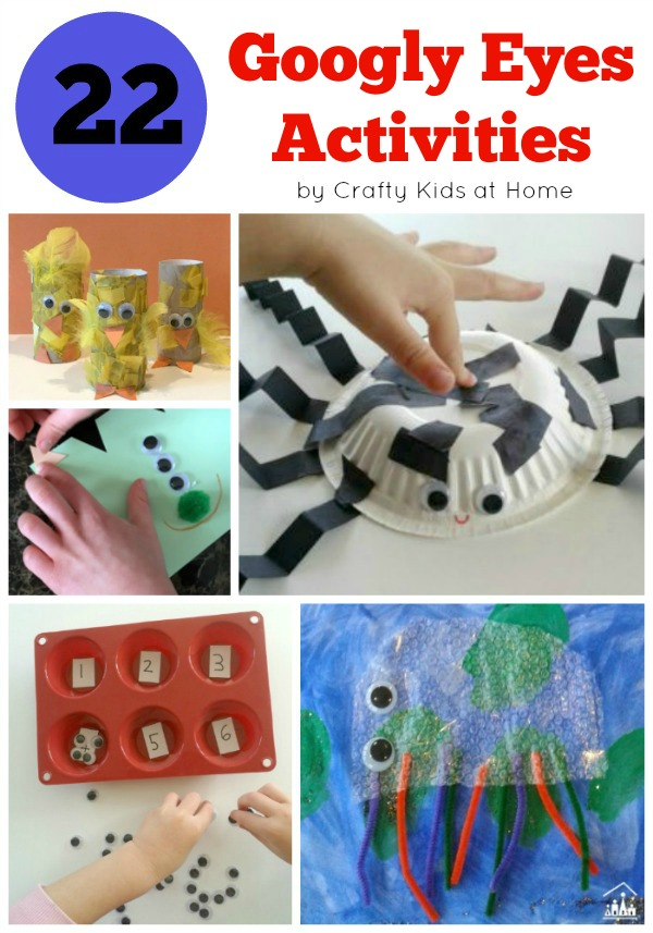 Googly Eyes Activities for Kids