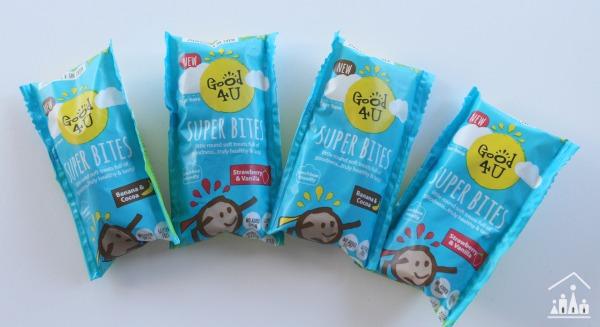 Good4u Superbites School Lunch Box Treats