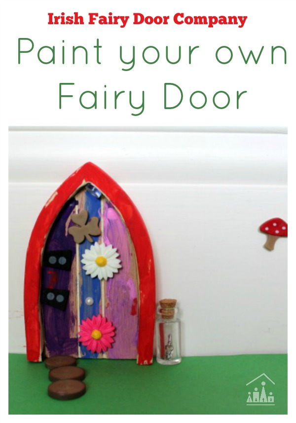 Paint your own fairy door crafty kids at home for The little fairy door company