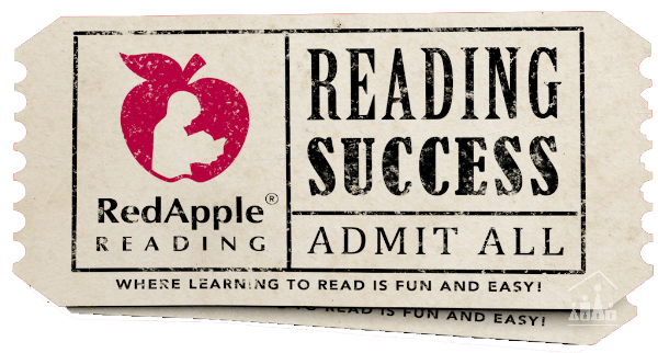 Red Apple Reading Ticket