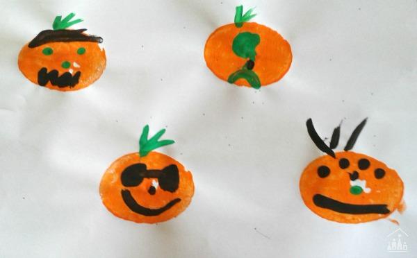 Pumpkin Faces Art Project
