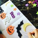 Spooky Sticker Story Writing