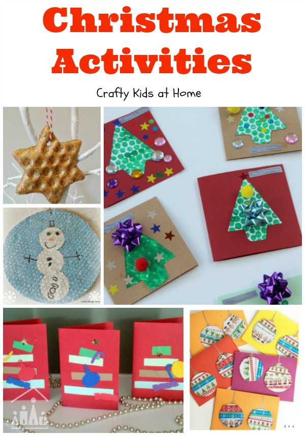 Christmas Activities for Kids from Crafty Kids at Home