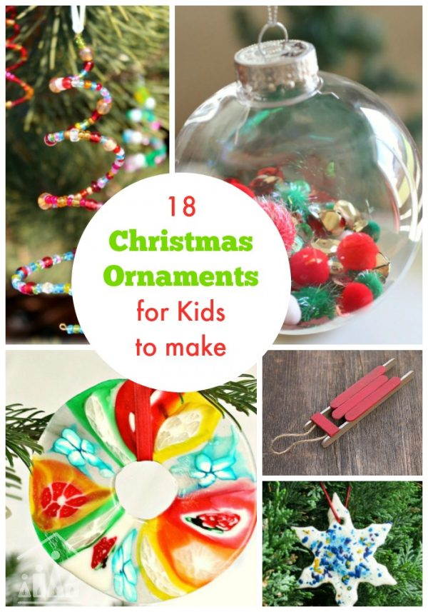 Creative Christmas Ornaments for Kids to Make.