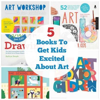 Best Kids Art Books