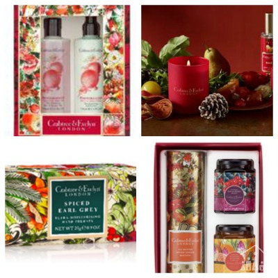 Treat your teacher to a gift from the Feast for the Senses range from Crabtree & Evelyn