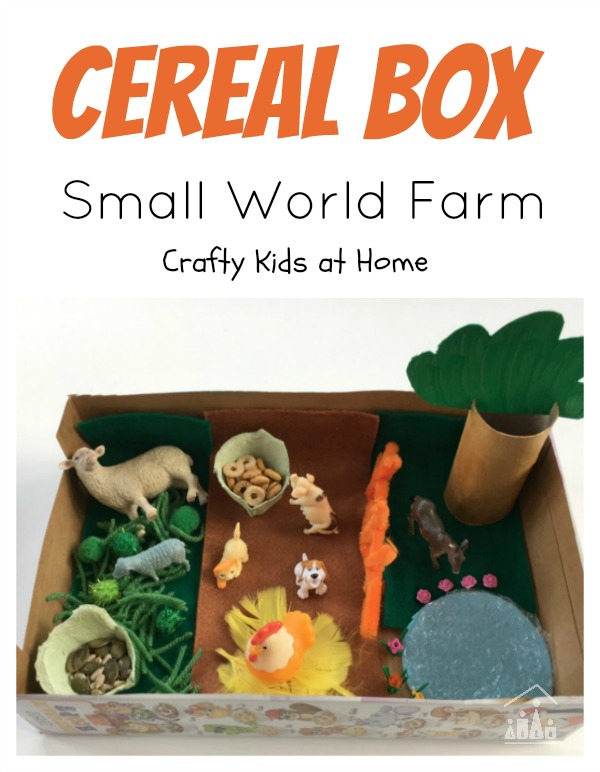 Cereal Box Small World Farm