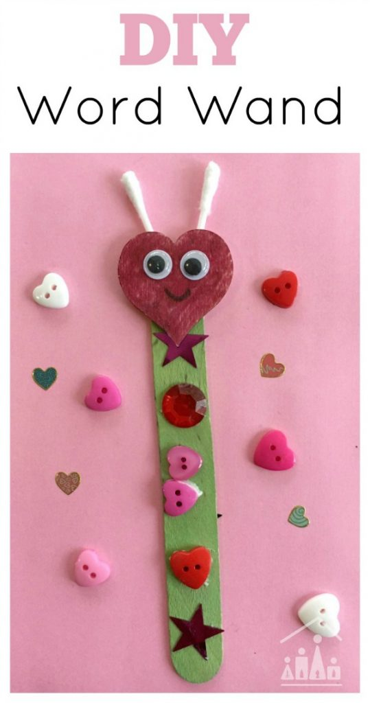 DIY Word Wand Kids Literacy Aid