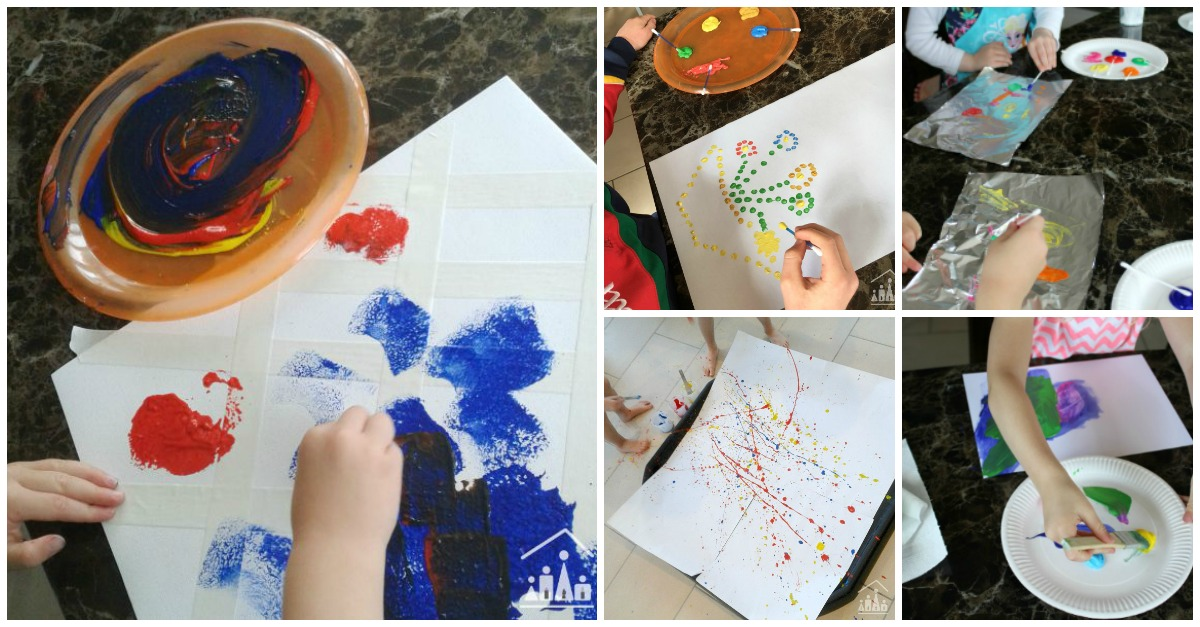 Really Easy Painting Ideas for Kids