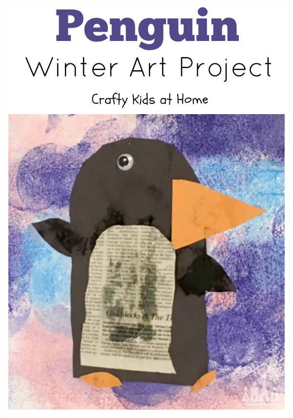 Penguin Winter Art Project