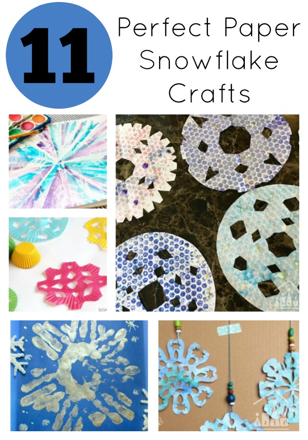 11 Paper Snowflakes Crafts for Kids