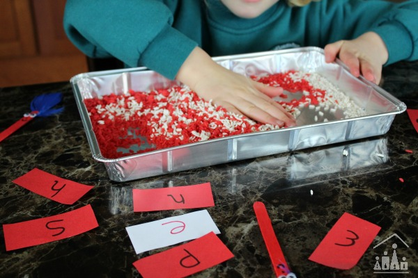 Cat in the Hat Sensory Writing Tray