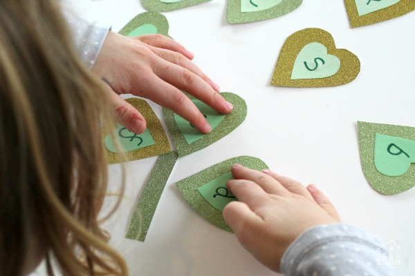 Making a Shamrock from 3 hearts