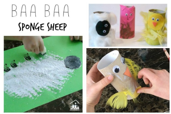 Spring Farm Animals Activities for Kids