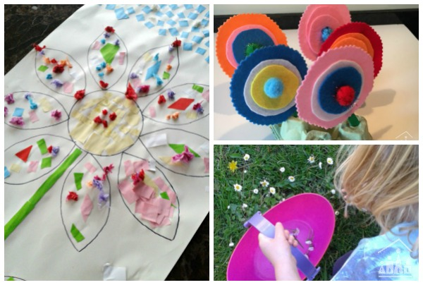 Spring Flower Activities for Kids
