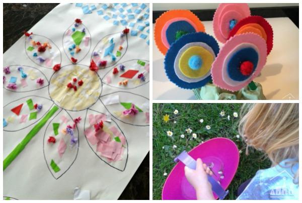 Spring Flower Activities for Kids