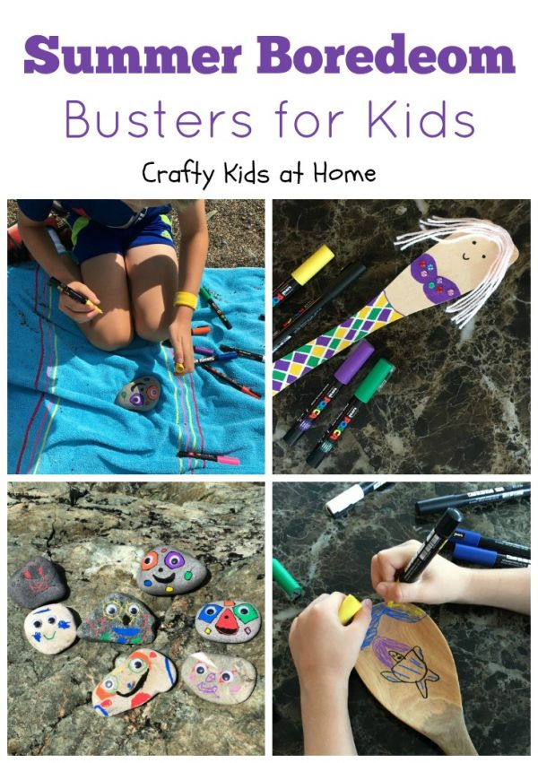 Creative Summer Boredom Busters for Kids